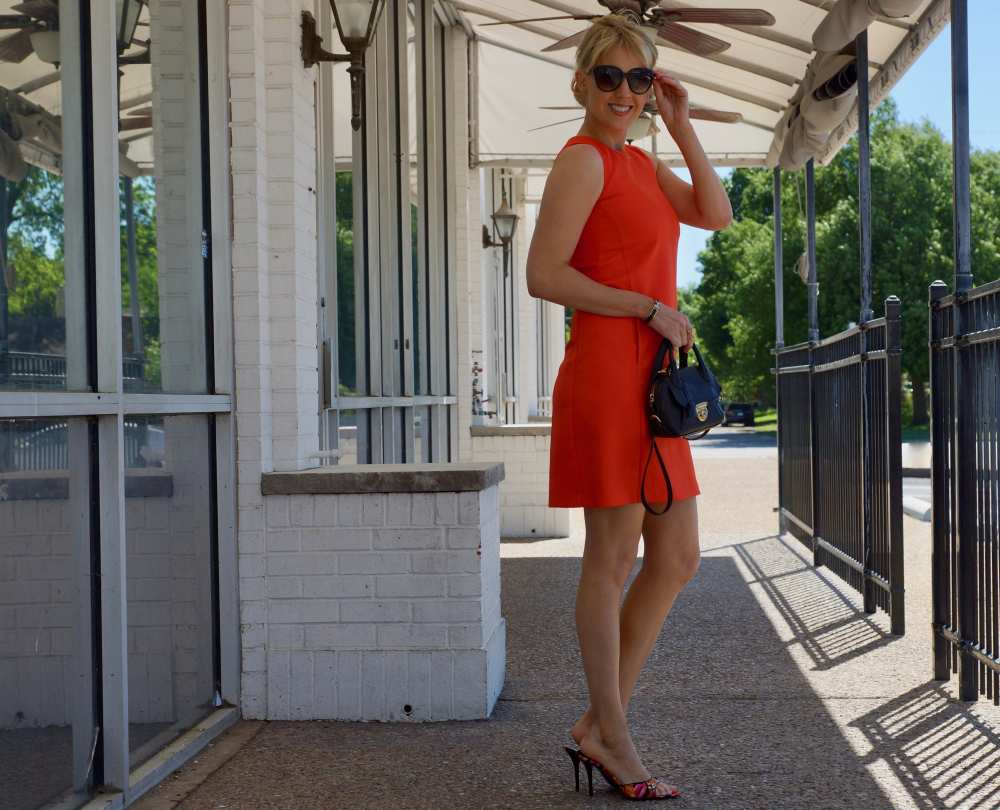 orange-tommy-hilfiger-dress