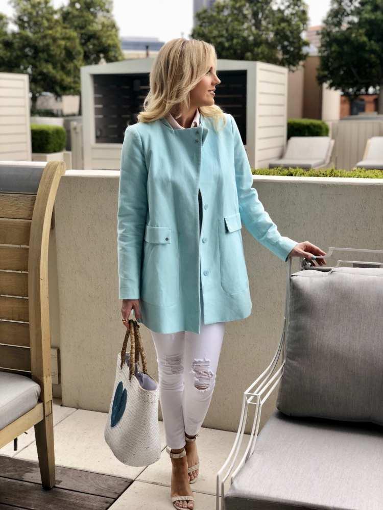 Savvy-Spice-baby-blue-Zara-jacket