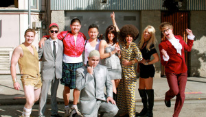 90's Flashback! Austin Powers, Dr. Evil & Foxxy Cleopatra Appear in SF