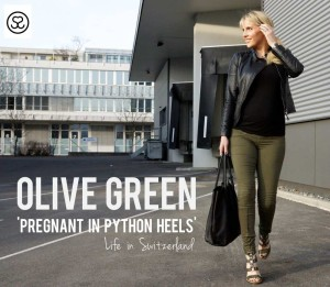 Pregnant in Python Heels