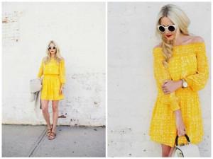 Trend Alert! Off-the-Shoulder Summer Dresses
