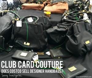 Can You Buy Michael Kors & Burberry Handbags at Costco?