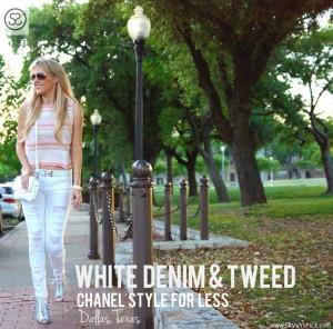 White Denim & Tweed in Dallas