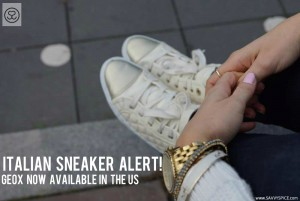 New! Geox Italian Sneakers Finally Sold in the US
